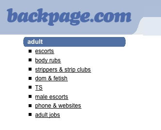 Backpage hook up
