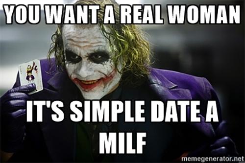 I like a milf woman