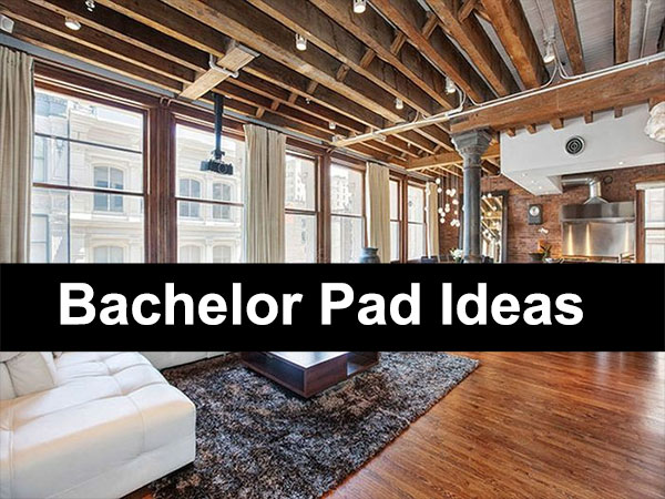 bachelor pad improvement ideas