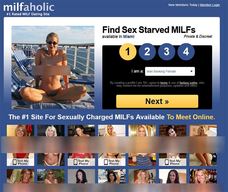 Milfaholic.com Scam