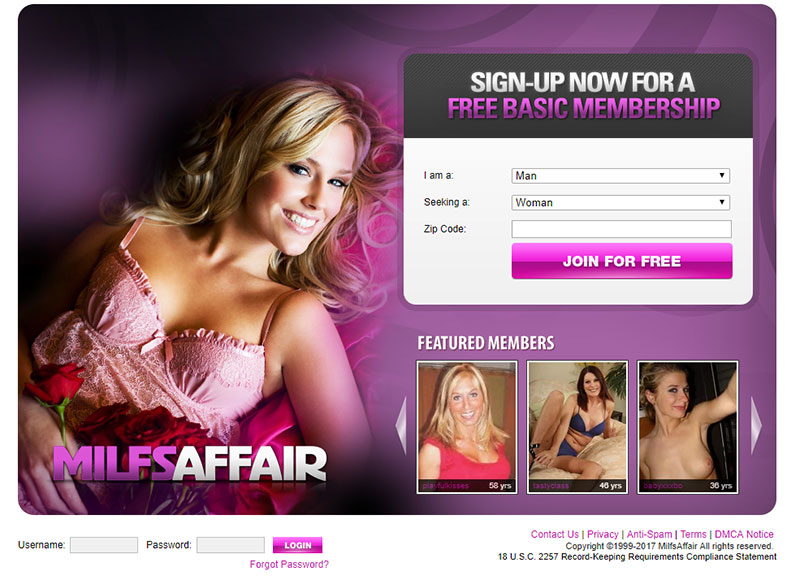 Milfsaffair.com Reviews