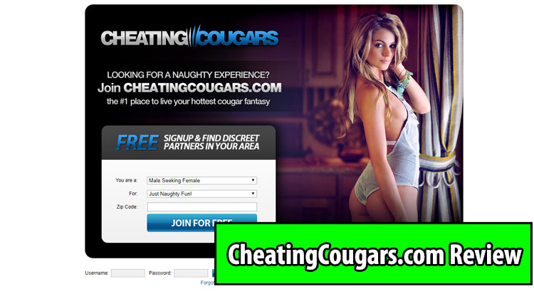 cheating cougars website